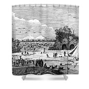 South Africa, C1780 Shower Curtain