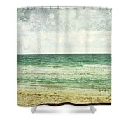 South Beach  Shower Curtain