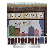 South Bronx - New York City Shower Curtain