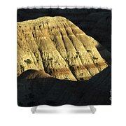 South Dakota Badlands Shower Curtain