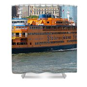 South Ferry Water Ride1 Shower Curtain