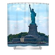 South Ferry Water Ride13 Shower Curtain