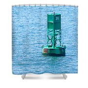 South Ferry Water Ride18 Shower Curtain