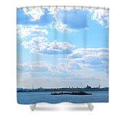 South Ferry Water Ride21 Shower Curtain