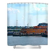 South Ferry Water Ride26 Shower Curtain