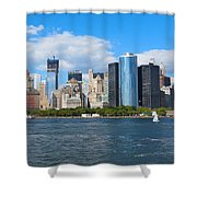 South Ferry Water Ride5 Shower Curtain
