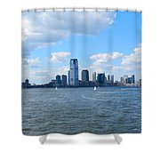 South Ferry Water Ride6 Shower Curtain
