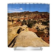 South Fruita Overlook Shower Curtain