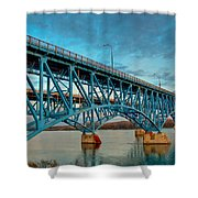 South Grand Island 3302 Shower Curtain