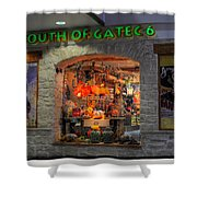 South Of Gate C6 Shower Curtain