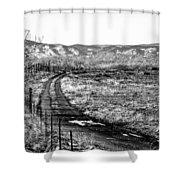 South Platte Park II Shower Curtain