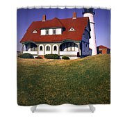 South Portland Lighthouse Shower Curtain