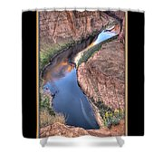 South Side Of Horseshoe Bend Shower Curtain