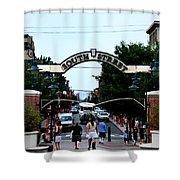 South Street - Philadelphia Shower Curtain by Bill Cannon