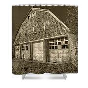 Southampton Potato Barn II Shower Curtain