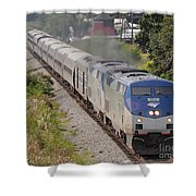 Southbound Amtrak Silver Star Shower Curtain