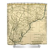 Southern Brazil Shower Curtain