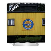 Southern Pacific Shower Curtain