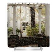 Southern Pergola Charm Shower Curtain
