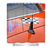 Southern Racing Flags Shower Curtain