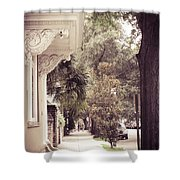 Southern Stroll Shower Curtain
