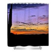 Southwestern Style Sunrise  Shower Curtain
