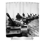 Soviet Tanks, 1978 Shower Curtain