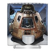 Space Capsule Shower Curtain