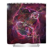 Space Gas Shower Curtain