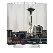 Space Needle Shower Curtain
