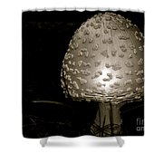 Space Oddity Earthling Shower Curtain