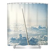 Space Shuttle Challenger Shower Curtain