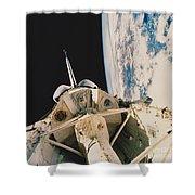 Space Shuttle Columbia Shower Curtain