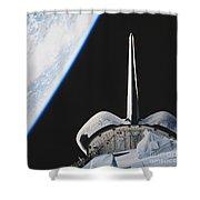 Space Shuttle Endeavour Shower Curtain