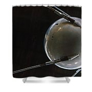 Space: Sputnik 1, 1957 Shower Curtain