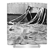 Space: Venus 4, 1967 Shower Curtain