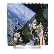 Spacewalk Shower Curtain