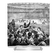 Spain: Bullfight, 1875 Shower Curtain
