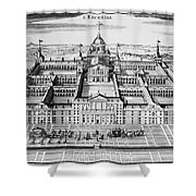 Spain: El Escorial Shower Curtain