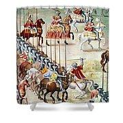 Spain: Higueruela, 1431 Shower Curtain