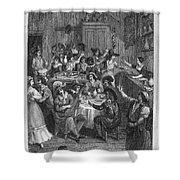 Spain: Inn, 1810 Shower Curtain