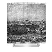 Spain: Madrid, 1833 Shower Curtain
