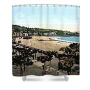 Spain: San Sebastian Shower Curtain