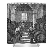 Spain: Winery Shower Curtain