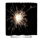 Spangle Shower Curtain by Susan Herber