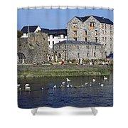 Spanish Arch, Galway City, Ireland Shower Curtain