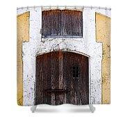 Spanish Fort Door Castillo San Felipe Del Morro San Juan Puerto Rico Prints Poster Edges Shower Curtain