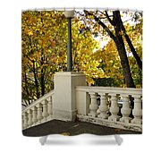 Spanish Steps II Shower Curtain