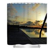Spanish Sunrise Shower Curtain