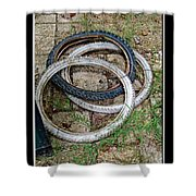 Spare Tires Shower Curtain